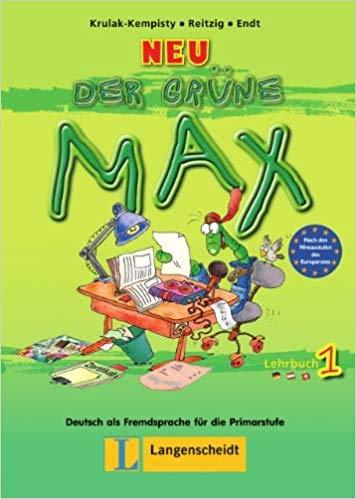 9783468988257: Neu Der Grüne Max 1. Lehrbuch