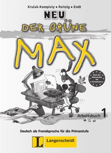9783468988264: Der Grune Max Neu: Arbeitsbuch 1 (German Edition)