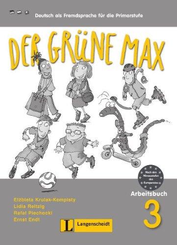 9783468988417: Der grüne Max 3 ejercicios con CD Audio (Texto)