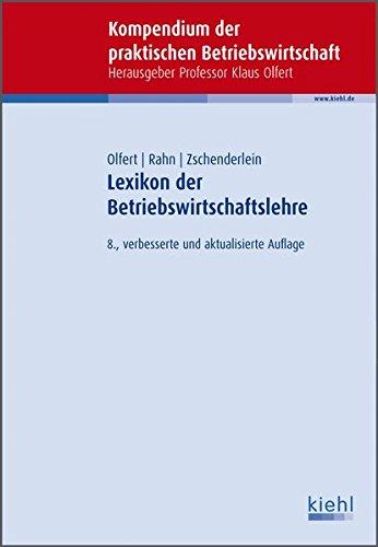 9783470456089: Lexikon der Betriebswirtschaftslehre