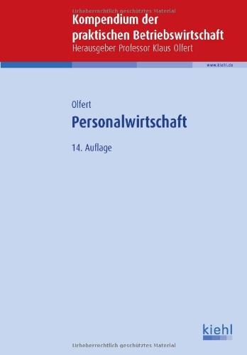 Personalwirtschaft - Olfert, Klaus