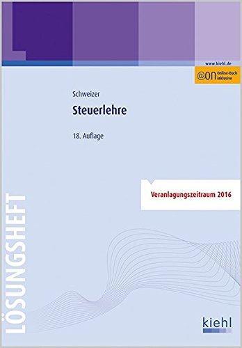 9783470595184: Steuerlehre - Lösungsheft