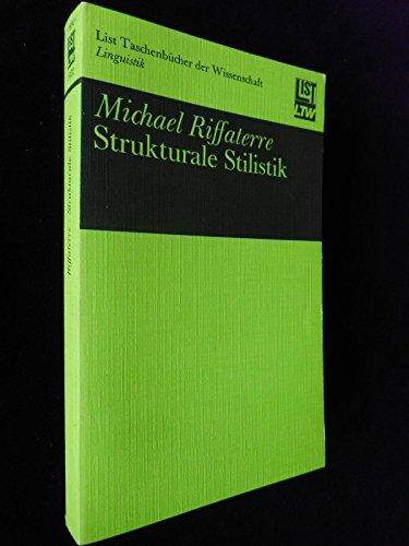 9783471614228: Strukturale Stilistik