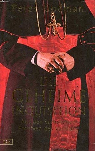 9783471794180: Die geheime Inquisition.