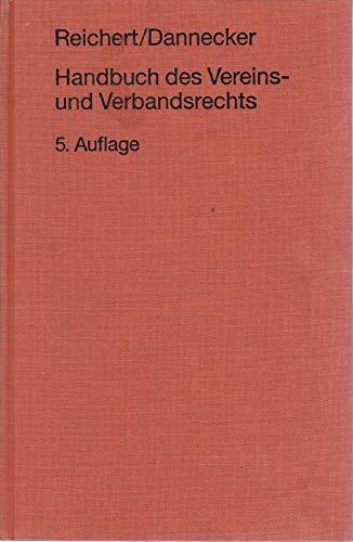9783472007494: Handbuch des Vereins- und Verbandsrechts (German Edition)