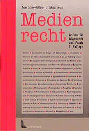 9783472015697: Medienrecht: Lexikon fur Wissenschaft und Praxis