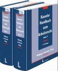 9783472038191: Kasseler Handbuch zum Arbeitsrecht, 2 Bde. im Schuber