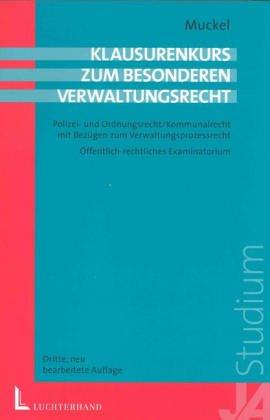 9783472050896: Besonderes Verwaltungsrecht. Polizei- und Ordnungsrecht. Kommunalrecht.