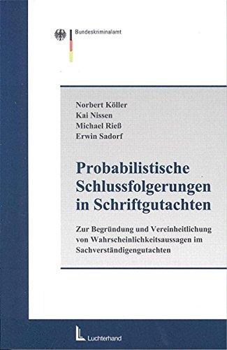 9783472058571: Probabilistische Schlussfolgerungen in Schriftgutachten.