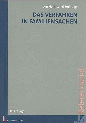 Das Verfahren in Familiensachen