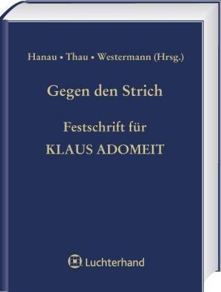 Gegen den Strich: Peter Hanau