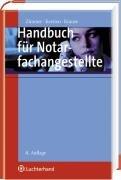 9783472072591: Handbuch f�r Notarfachangestellte