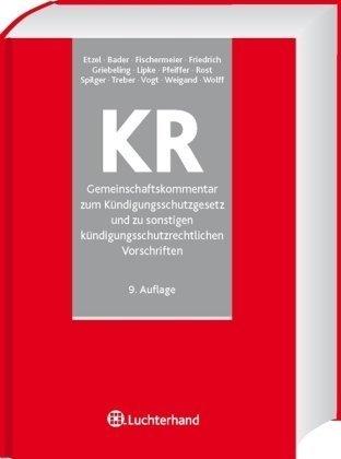 9783472075202 Gemeinschaftskommentar Zum Kündigungsschutzgesetz Und