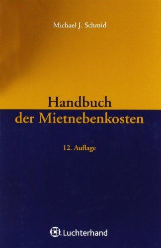 9783472075608: Handbuch der Mietnebenkosten