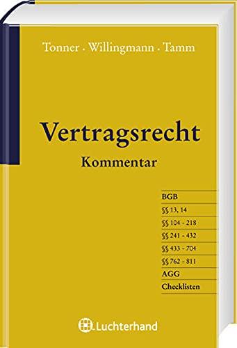 Vertragsrecht: Klaus Tonner