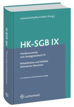 9783472076087: HK-SGB IX, Handkommentar zum Sozialgesetzbuch IX