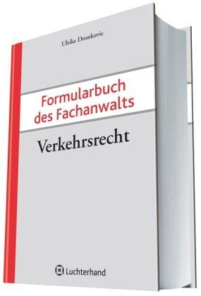 9783472076919: Formularbuch des Fachanwalts Verkehrsrecht