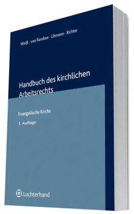 9783472078456: Handbuch des kirchlichen Arbeitsrechts: Evangelische Kirche