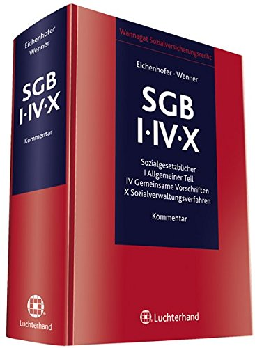 Kommentar zum SGB I/IV/X: Eberhard Eichenhofer