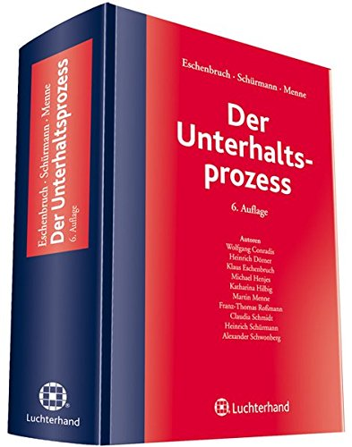 Der Unterhaltsprozess: Klaus Eschenbruch