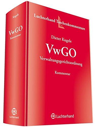 9783472083481: VwGO: Verwaltungsgerichtsordnung