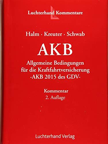Allgemeine Kraftfahrtbedingungen (AKB): Wolfgang Halm