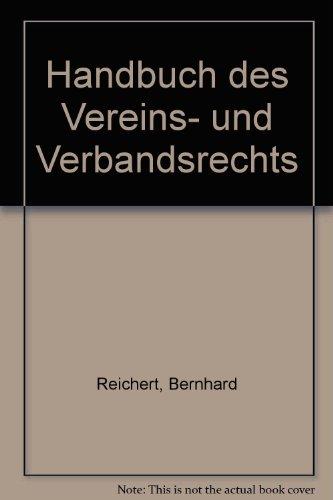9783472410331: Handbuch des Vereins- und Verbandsrechts (German Edition)