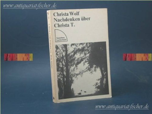 9783472610311: Nachdenken uber Christa T.