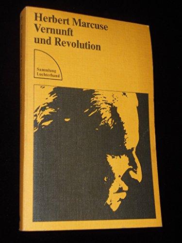 9783472610786: Vernunft und Revolution. Hegel und die Entstehung der Gesellschaftstheorie
