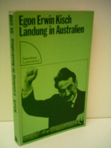 Landung in Australien (Sammlung Luchterhand ; 190): Kisch, Egon Erwin