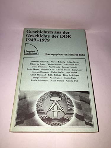 9783472613015: Geschichten aus der Geschichte der DDR, 1949-1979 (Sammlung Luchterhand) (German Edition)