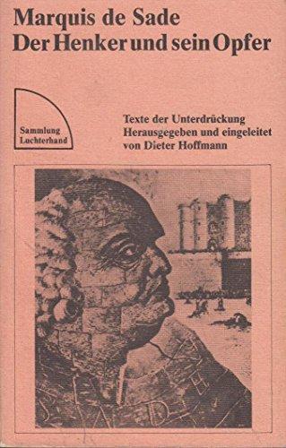 9783472614517: Der Henker und sein Opfer. Texte der Unterdr�ckung