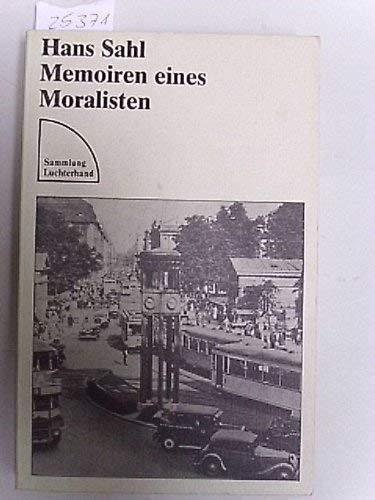9783472615682: Memoiren eines Moralisten (Sammlung Luchterhand)