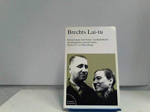 9783472616986: Brechts Lai-tu