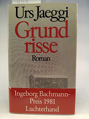 9783472865322: Grundrisse: Roman