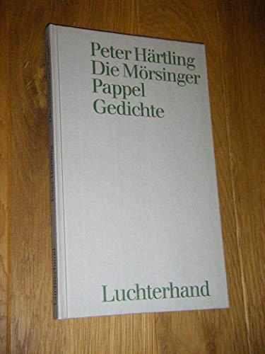 9783472866534: Die Mörsinger Pappel: Gedichte