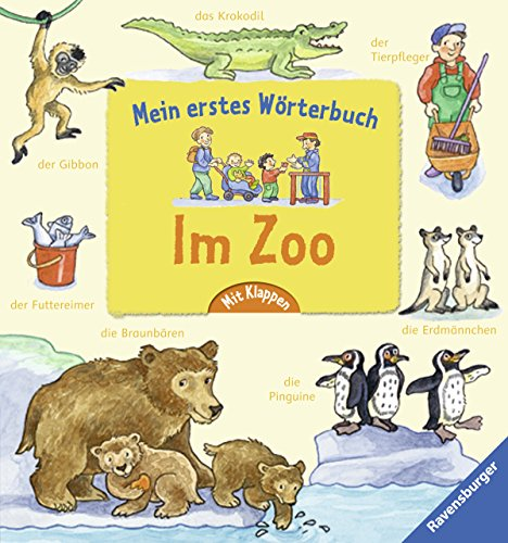 9783473314799: Mein erstes Wörterbuch: Im Zoo