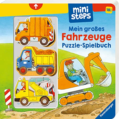 9783473316786: Mein großes Fahrzeuge Puzzle-Spielbuch