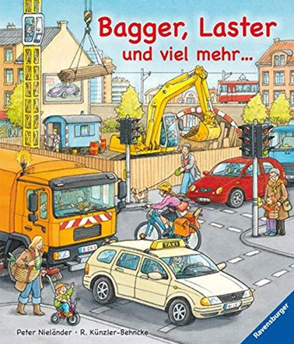 9783473324682: Bagger, Laster und viel mehr ...