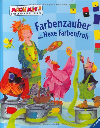 9783473324873: Farbenzauber mit Hexe Farbenfroh
