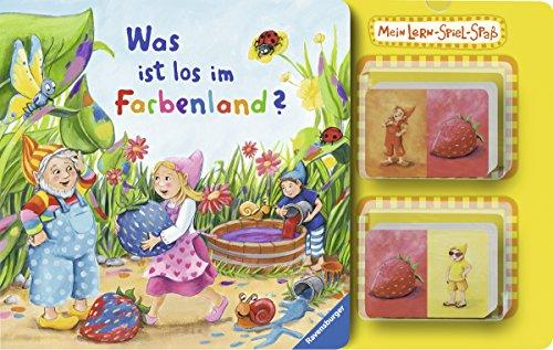 9783473324903: Mein Lern-Spiel-Spa�: Was ist los im Farbenland?