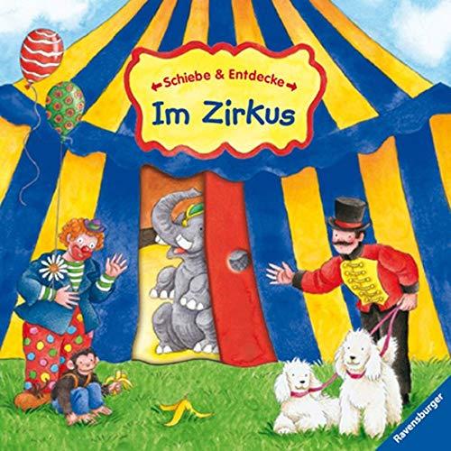 9783473325719: Schiebe & Entdecke: Im Zirkus