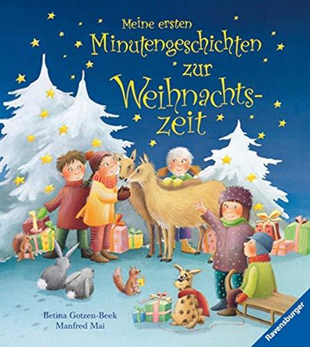 9783473325863: Meine ersten Minutengeschichten zur Weihnachtszeit
