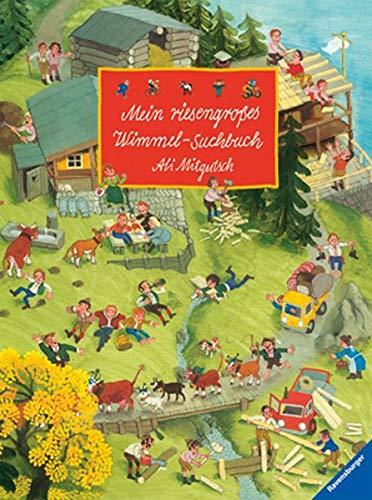 9783473325986: Mein riesengroßes Wimmel-Suchbuch