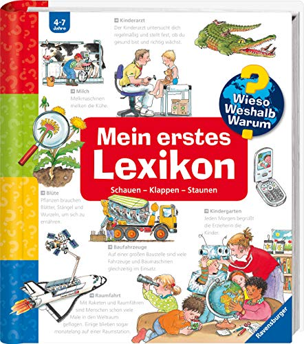 9783473327454: Mein erstes Lexikon: Schauen-Klappen-Staunen