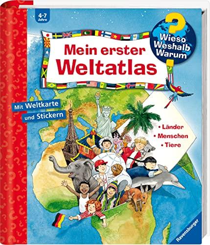 9783473327928: Mein erster Weltatlas. Wieso Weshalb Warum Sonderband: Länder. Menschen. Tiere