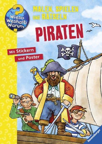 9783473328222: Piraten: Malen, Spielen und Rätseln