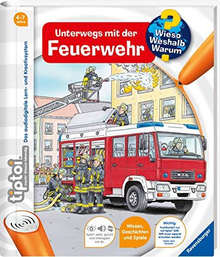 tiptoi® Unterwegs mit der Feuerwehr - Daniela Betz