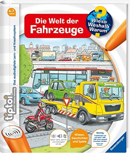 9783473329120: tiptoi® Die Welt der Fahrzeuge