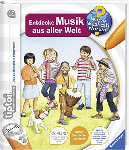 9783473329151: tiptoi® Entdecke Musik aus aller Welt